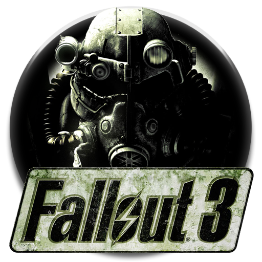 Icon by dudekpro on. Fallout 3 png black and white download