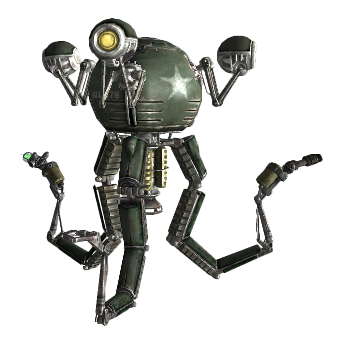 Image mister gutsy wiki. Fallout 3 png vector transparent library