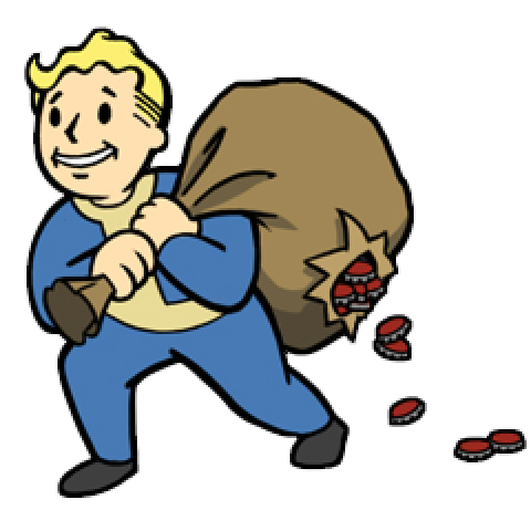 Fallout 3 vault boy png. Screenshots images and pictures
