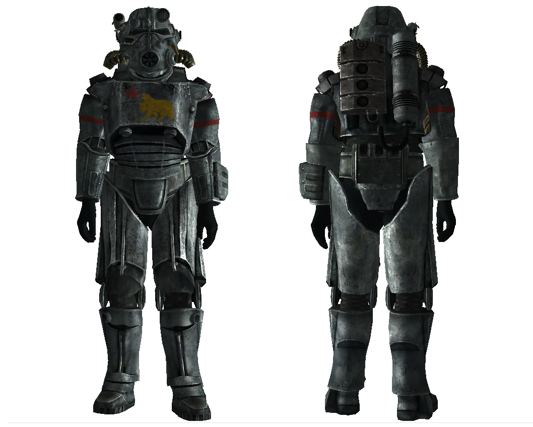 Fallout 4 Power Armor Transparent & PNG Clipart Free Download - YA