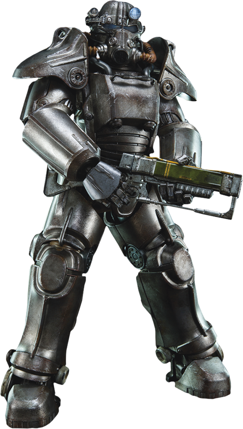 Fallout 4 character png. T sixth scale figure
