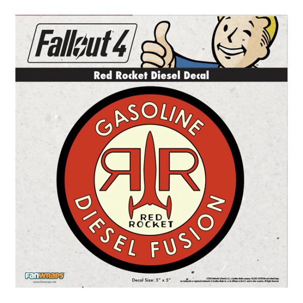 Fallout 4 png 101 decal. Red rocket diesel official