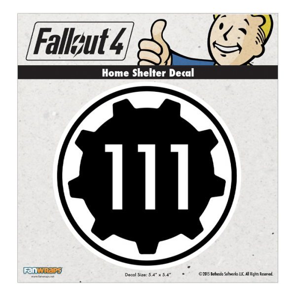 Fallout 4 png 101 decal. Home shelter official bethesda