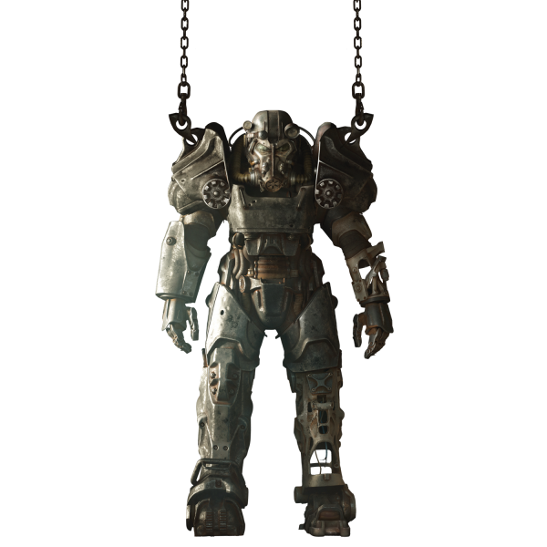 Fallout 4 power armor png. Wall decal t official