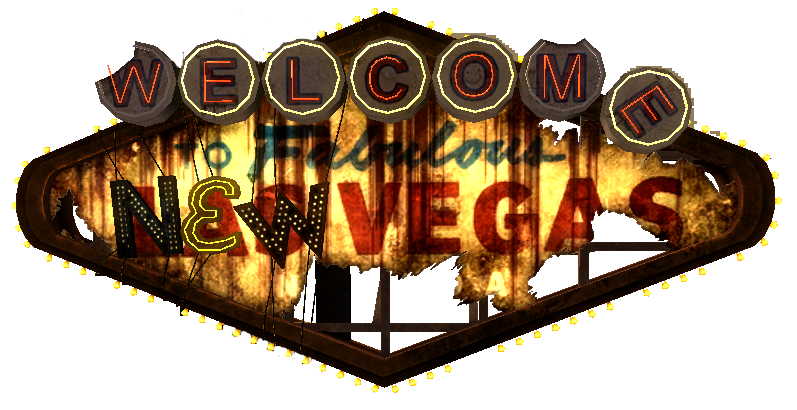Fallout new vegas png. The fabulous strip at