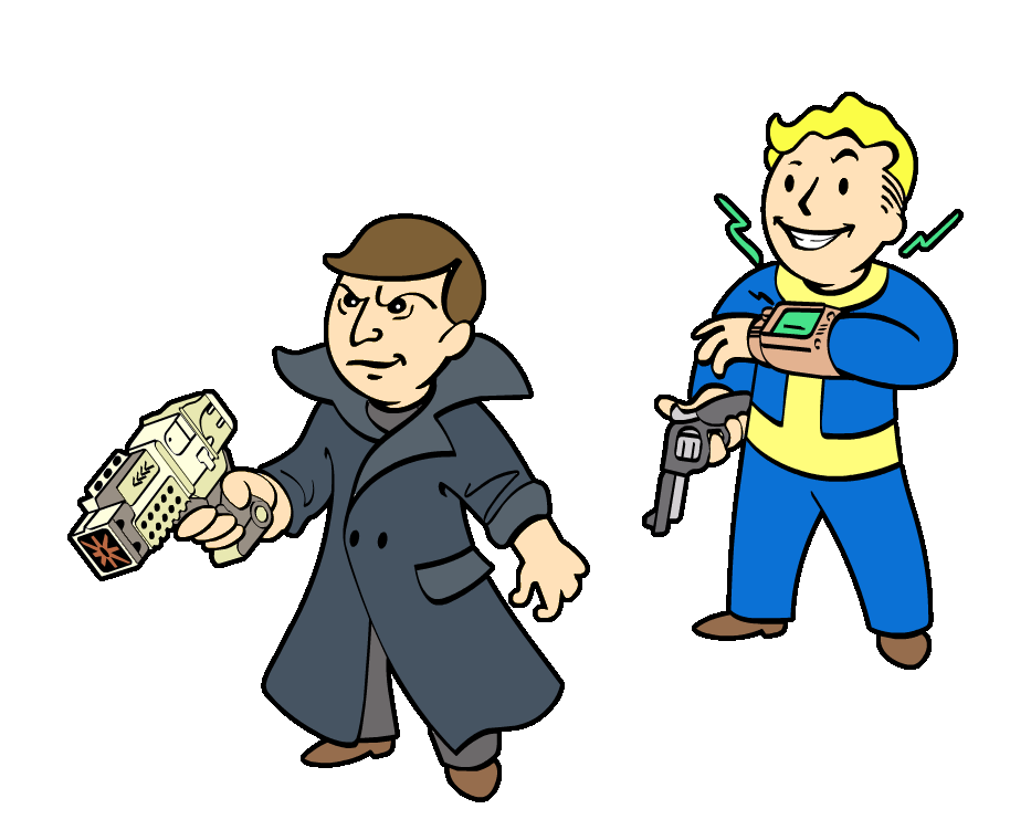 Fallout vault boy png. Can we talk about