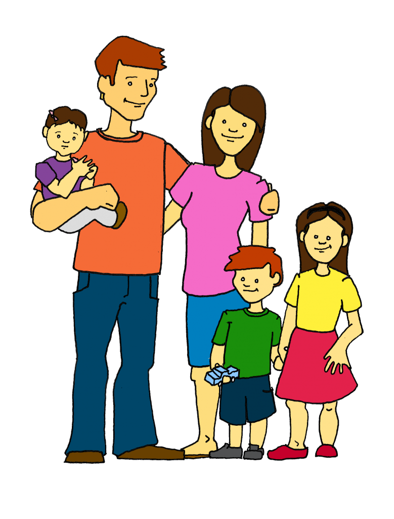 Family clip art free. Parents clipart 3 person clip art free download