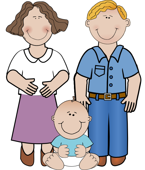 Parents clipart mom dad. Free of pregnant women