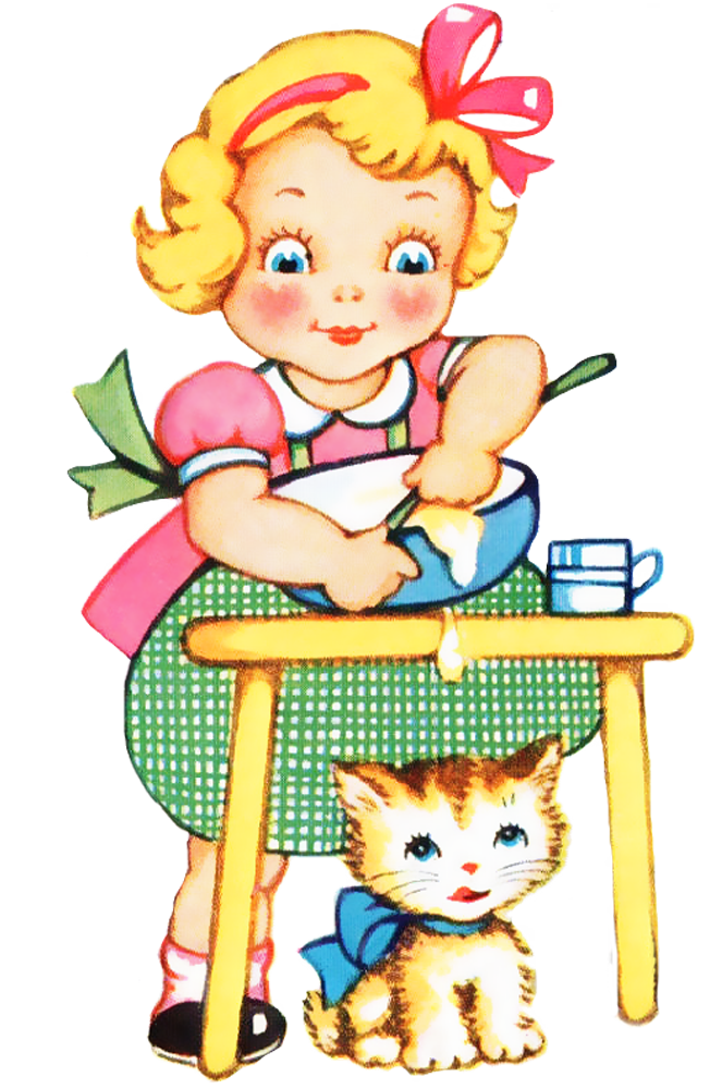 Girl clipart cooking. Free people cliparts download