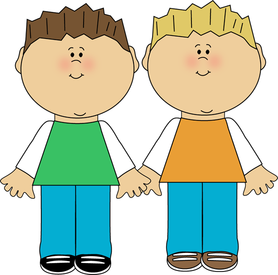 Siblings clipart brother elder. Family doing homework clip