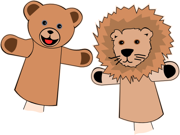 Families clipart puppet. Puppets clip art at