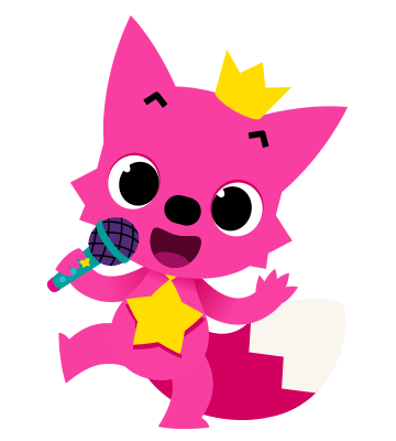 Baby shark clipart animated. Singing pinkfong kindergarden party