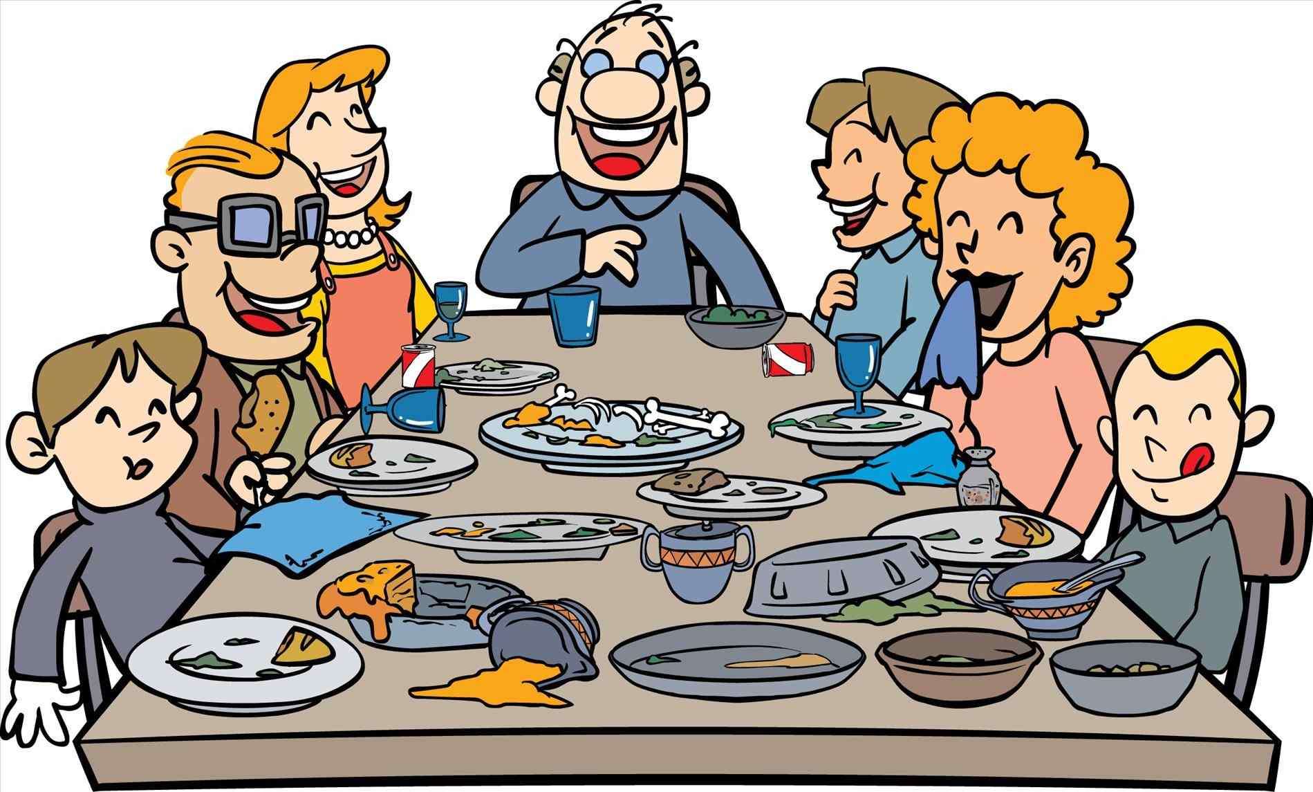 Feast clipart meal. Thanksgiving dinner cilpart chic