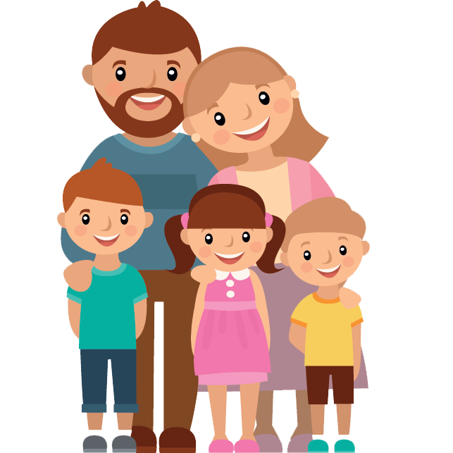 Family cartoon png. My flashcards on tinycards