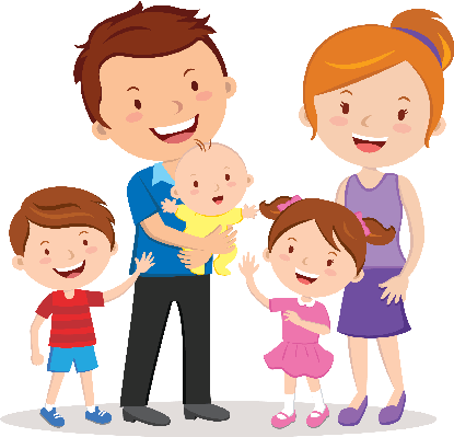 Family png clipart. Collection of happy