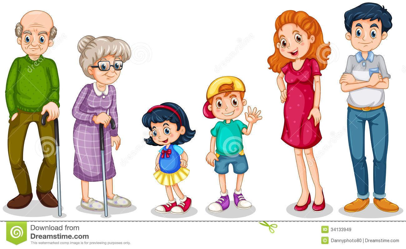 Family clipart. Members faces first pinterest