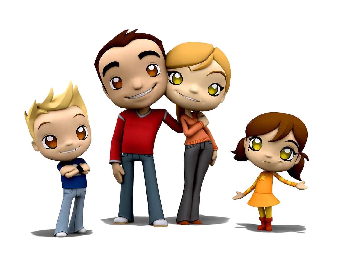 Family clipart animated. Free cliparts download clip
