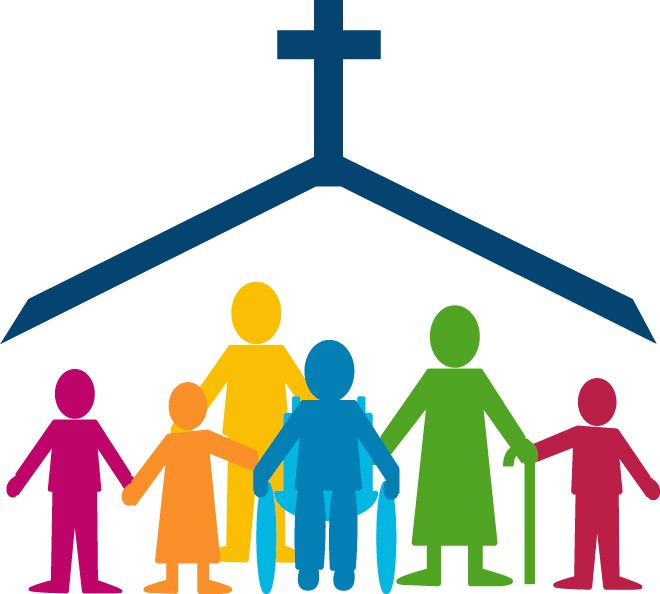 family clipart church