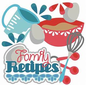Family clipart cookbook. Free meals cliparts download