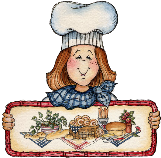 Bake clipart pastry. Cook baking bread by
