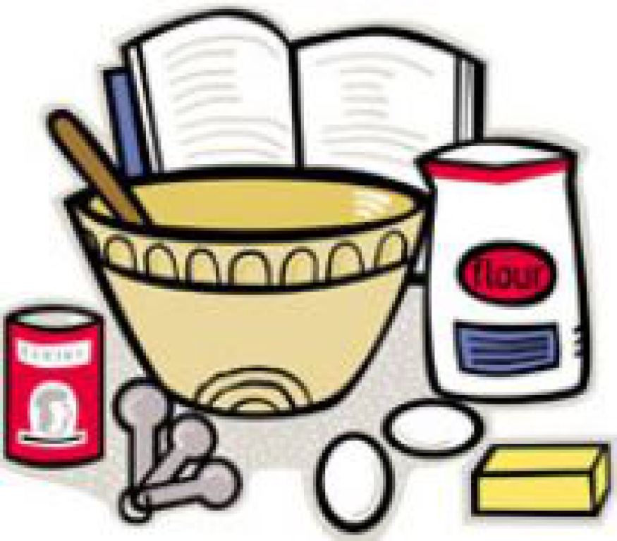 Family clipart cookbook. Parish share your favorite