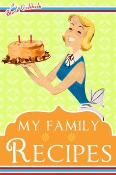 Family clipart cookbook. Make your own with