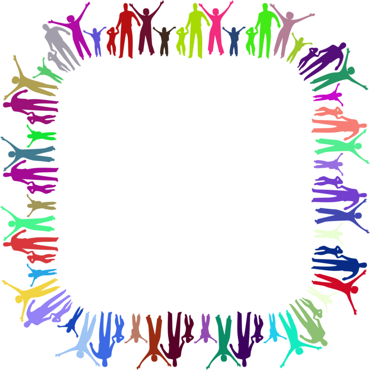 Family clipart frame. Computer icons free commercial