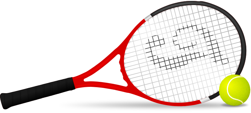 New page end of. Word clipart tennis banner library library