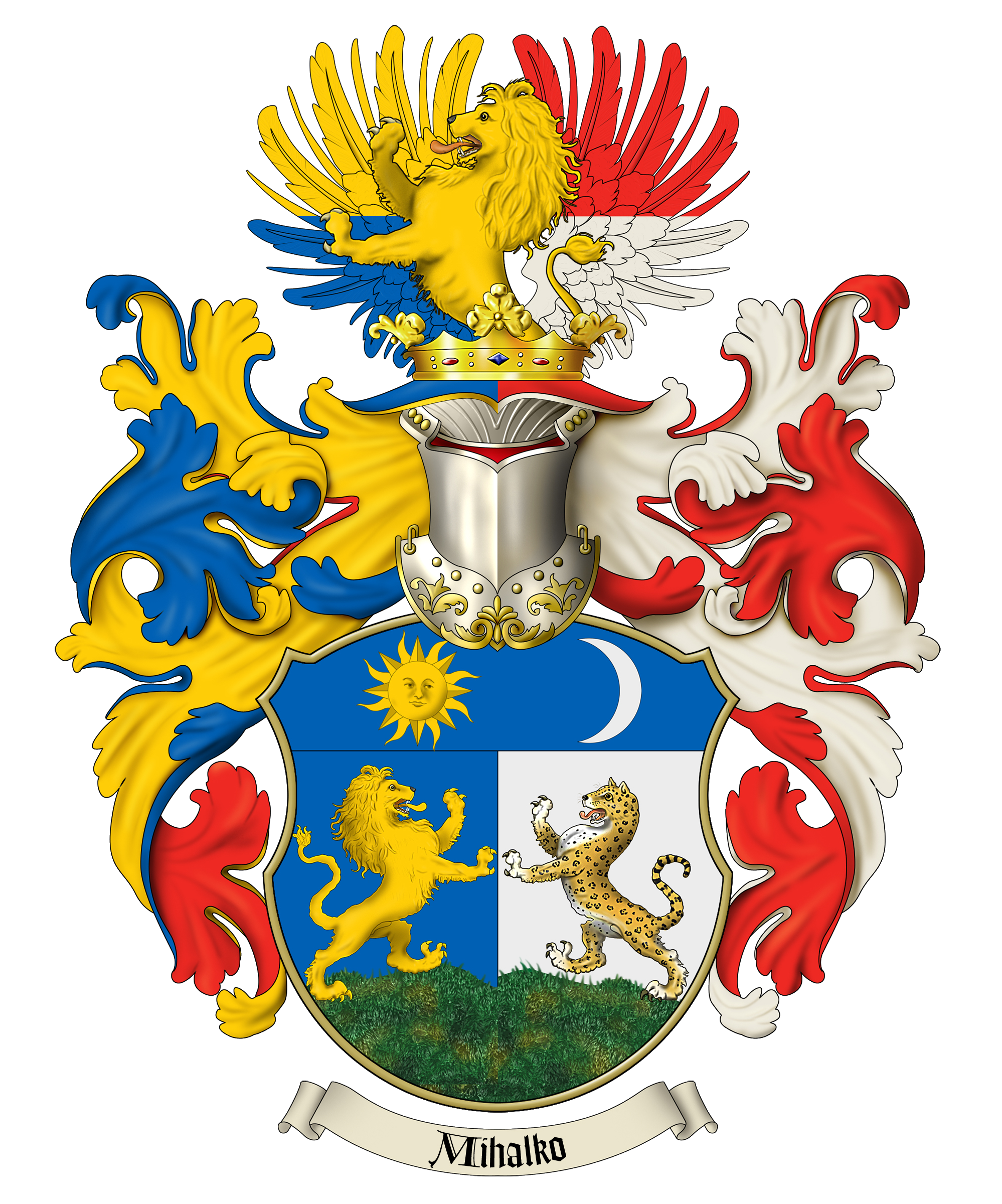 And coat of arms. Family crest png jpg black and white
