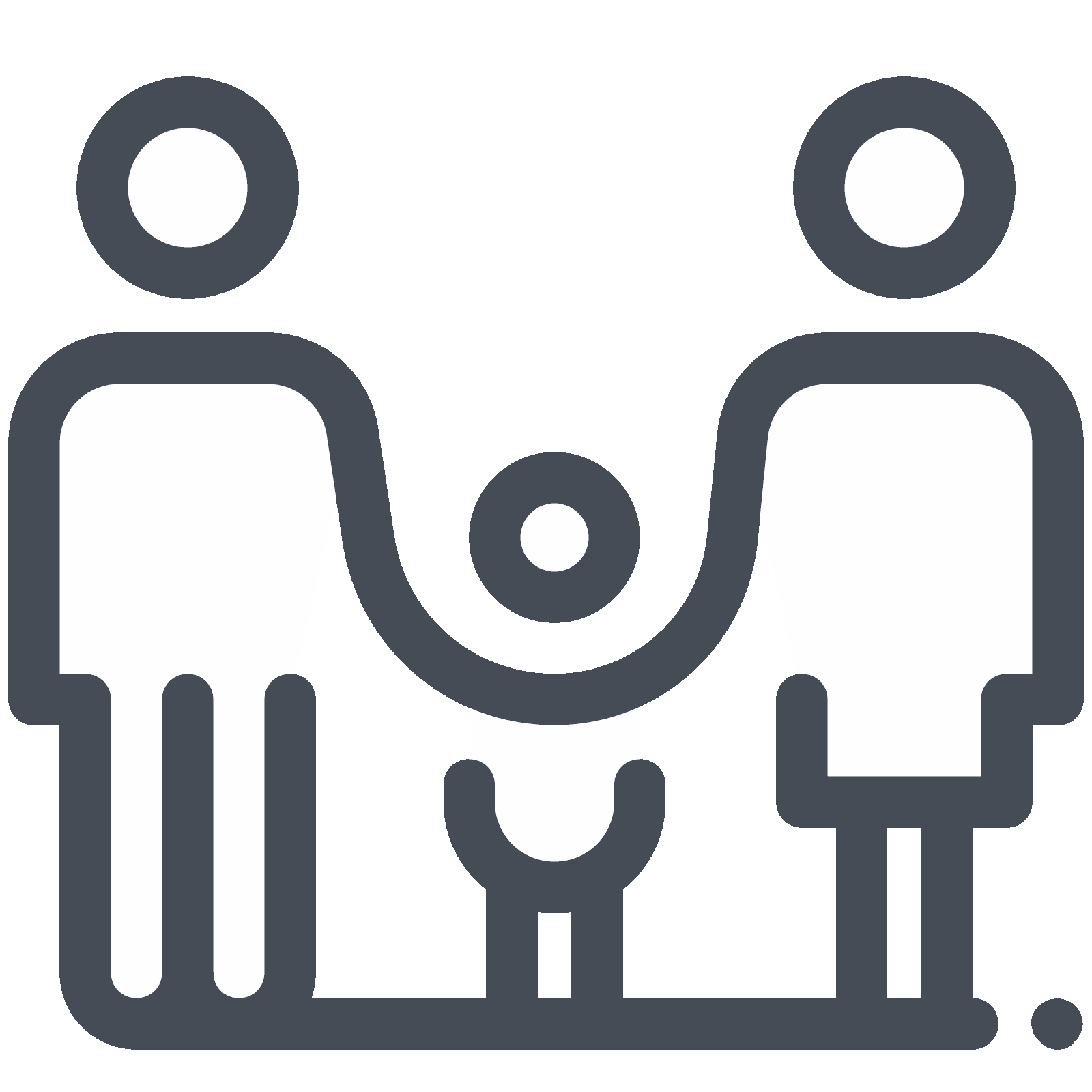 Family doodle png. Full icon free download