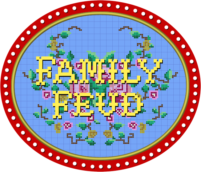 Family feud x png. Logo by wheelgenius on