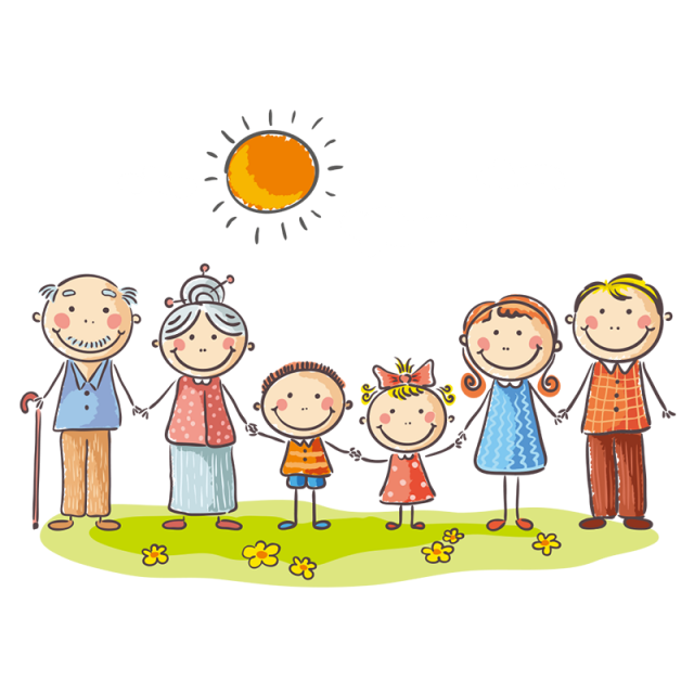 Family vector png. My members and for