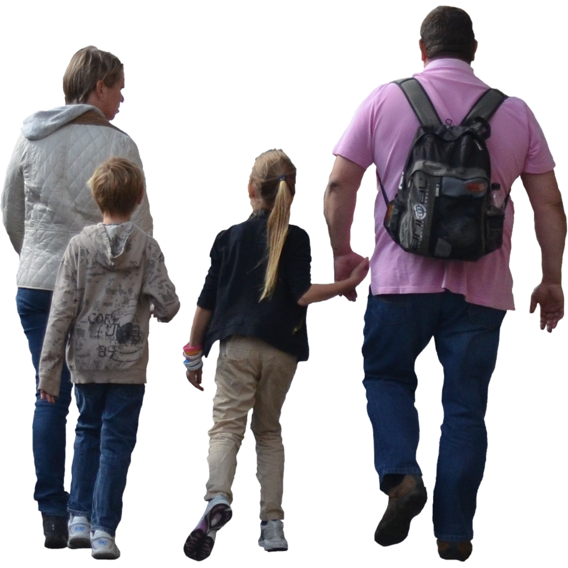 Family walking png. Get pictures free icons