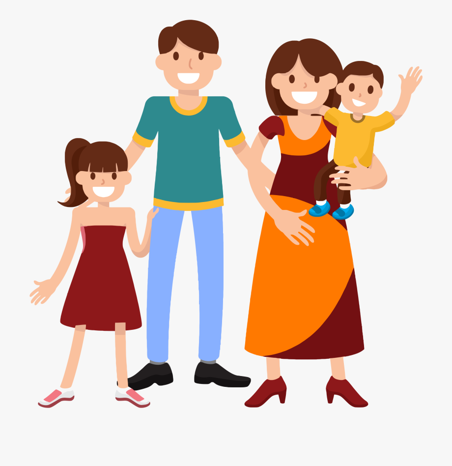 Fammily. Family clipart transparent png