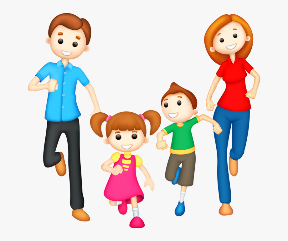 Fammily. Happy family clipart png