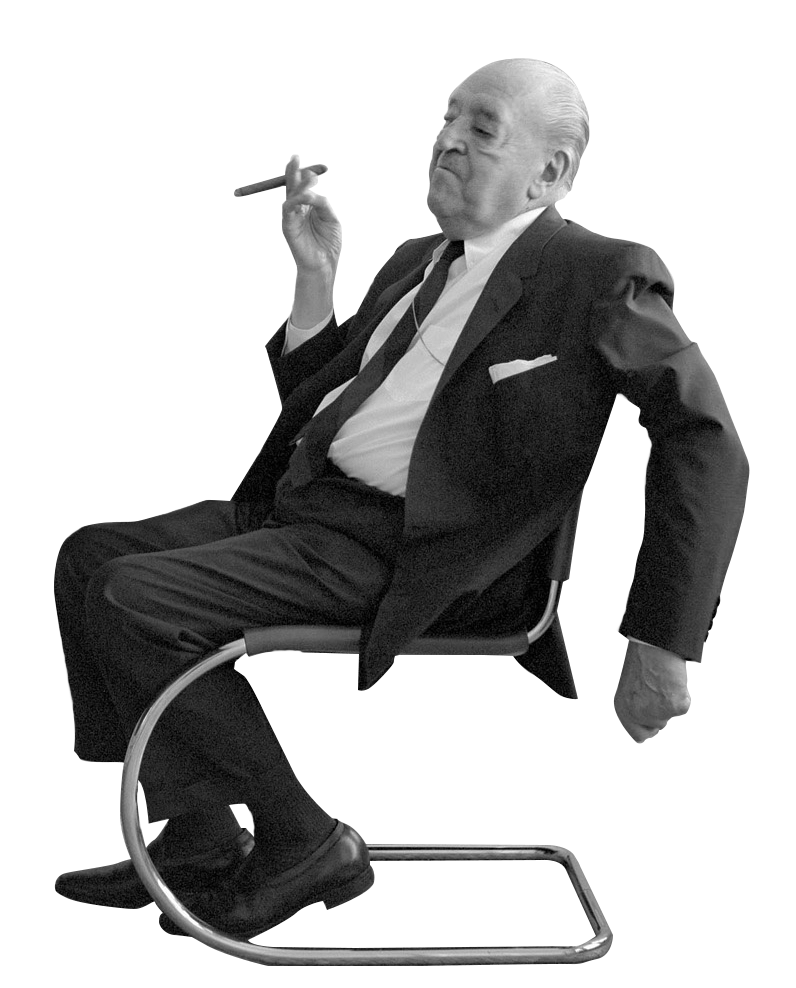 Famous people png. Cutout architects ludwig mies