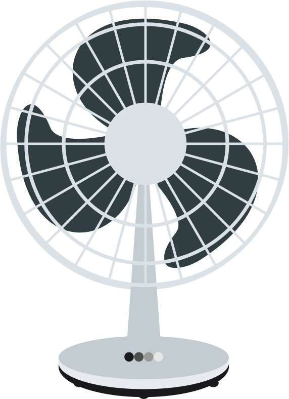 Fan clipart desk fan. Free clip art panda