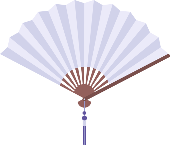 fan clipart folding fan