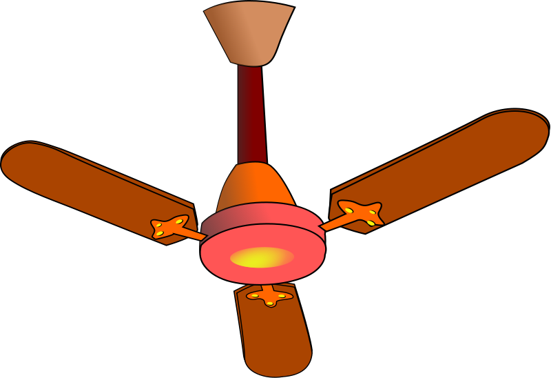 singing clipart fan