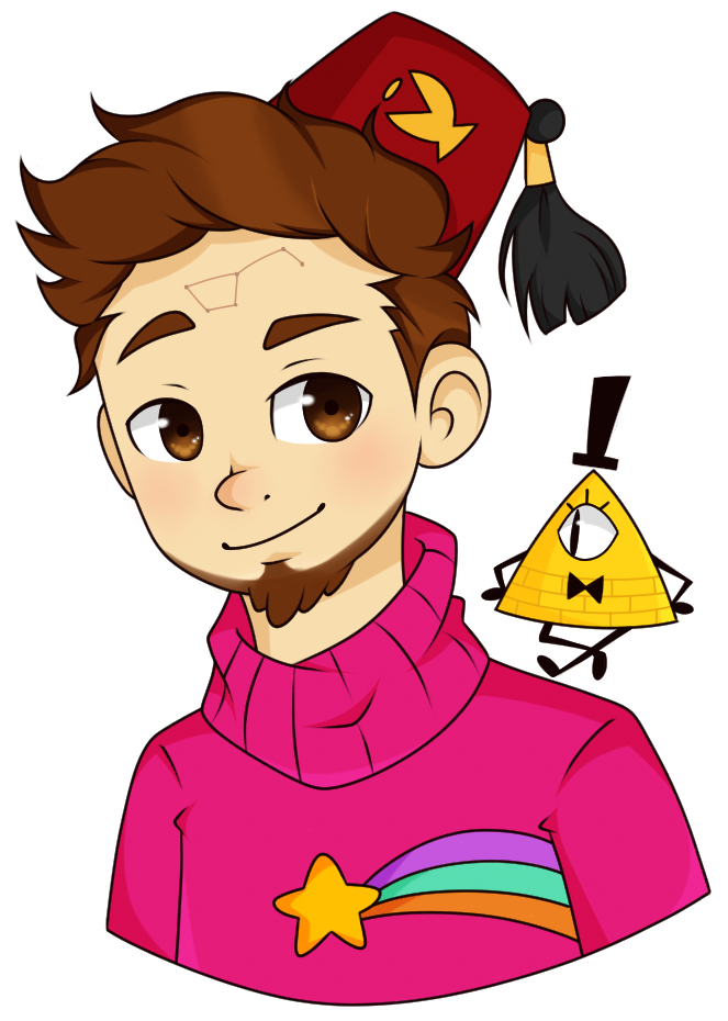 Fanart drawing gravity falls. Mayor of alex hirsch