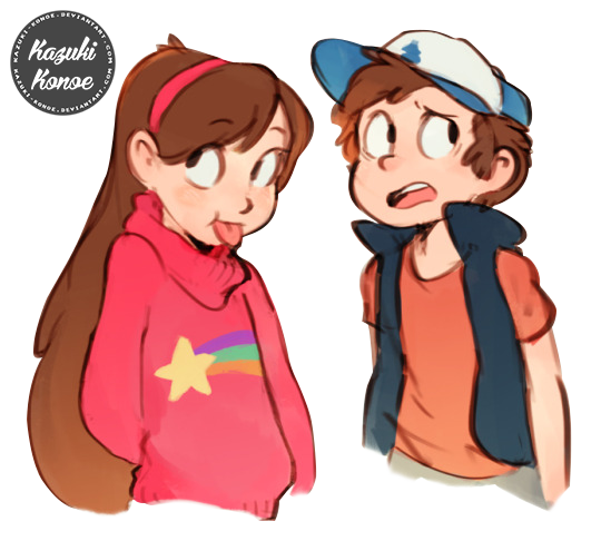 Fanart drawing gravity falls. Dipper pines mabel fan