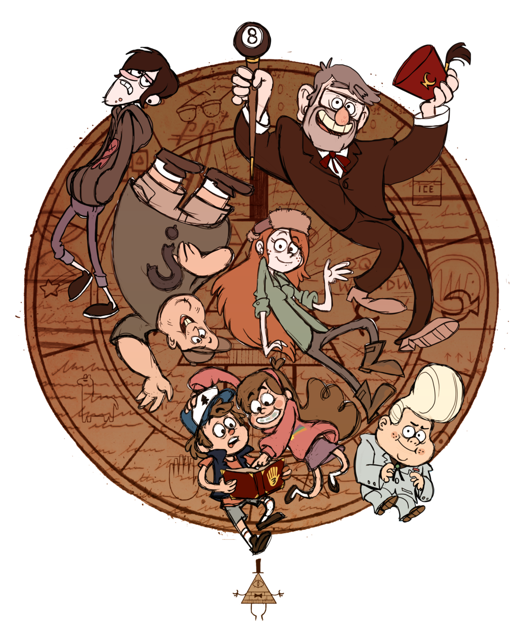Fanart drawing gravity falls. Favourites by sry on