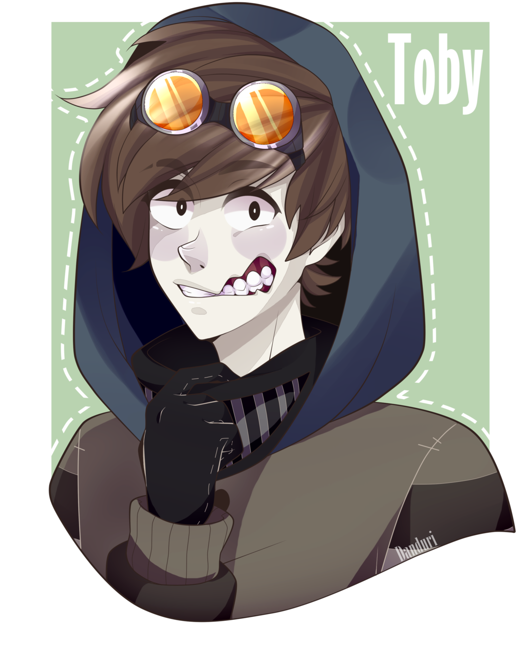Fanart drawing ticci toby. Image result for creepypasta