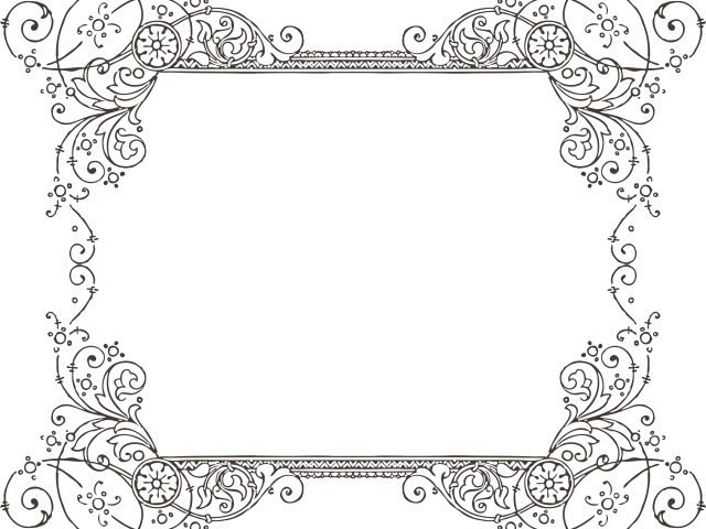 Images in collection page. Fancy black border png clip art freeuse stock