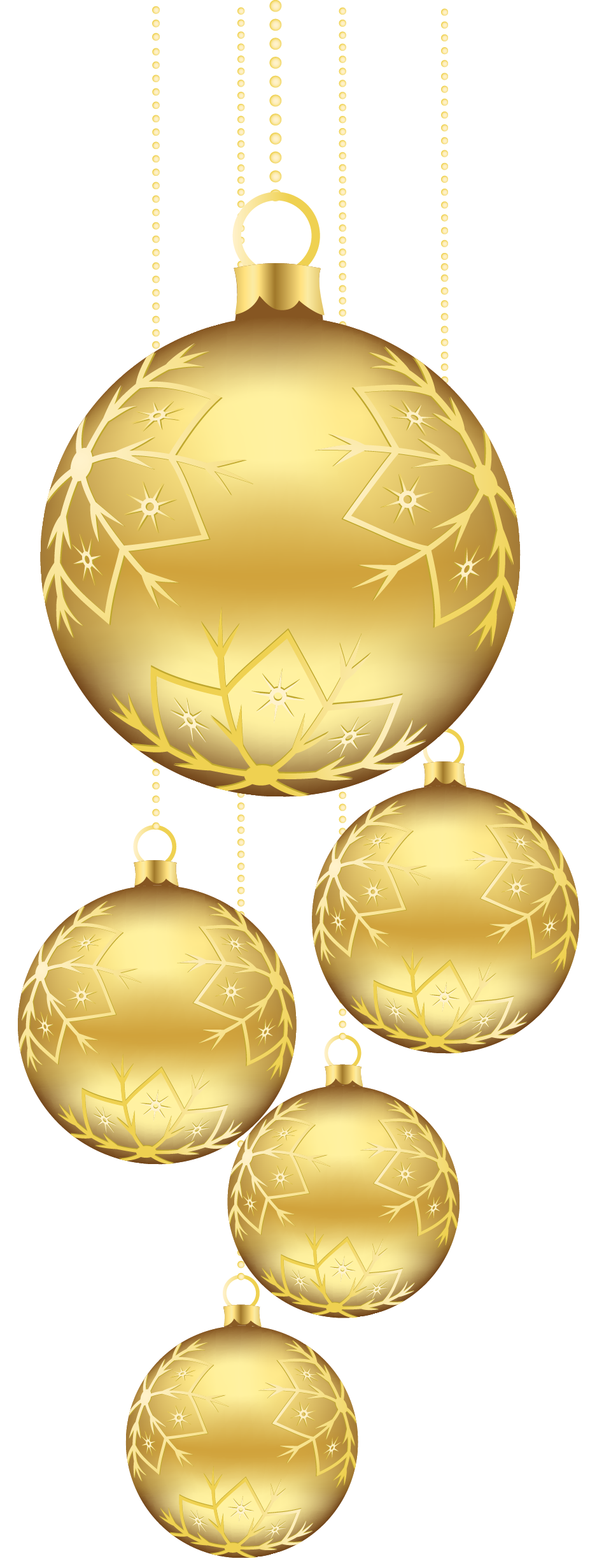 Fancy christmas ornaments background png. Golden balls picture gallery