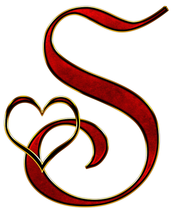 Fancy letter s png