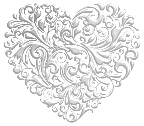 Fancy ornaments background png. Nebom hranimaya hearts heart