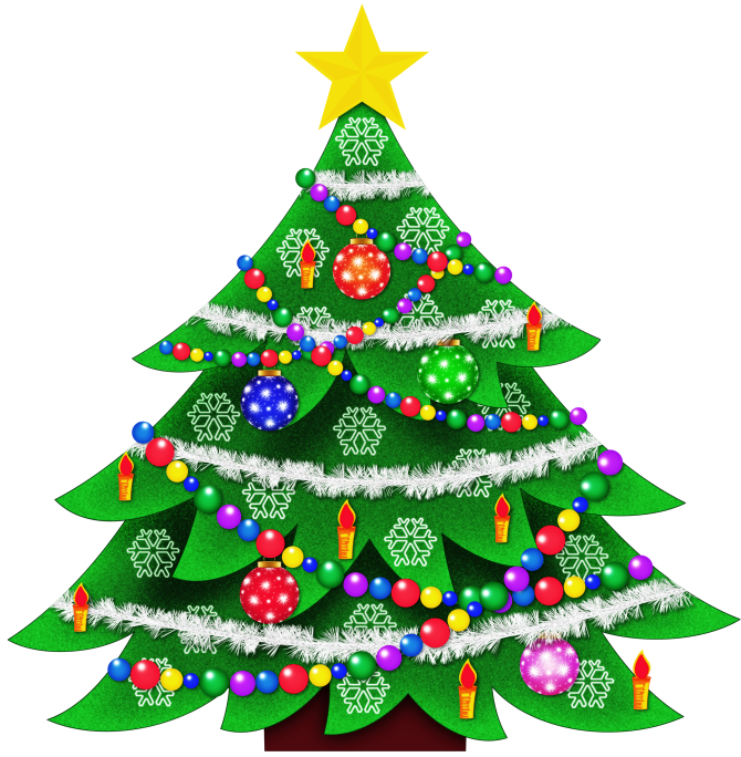 Fancy white christmas ornaments background png. Free tree clip art