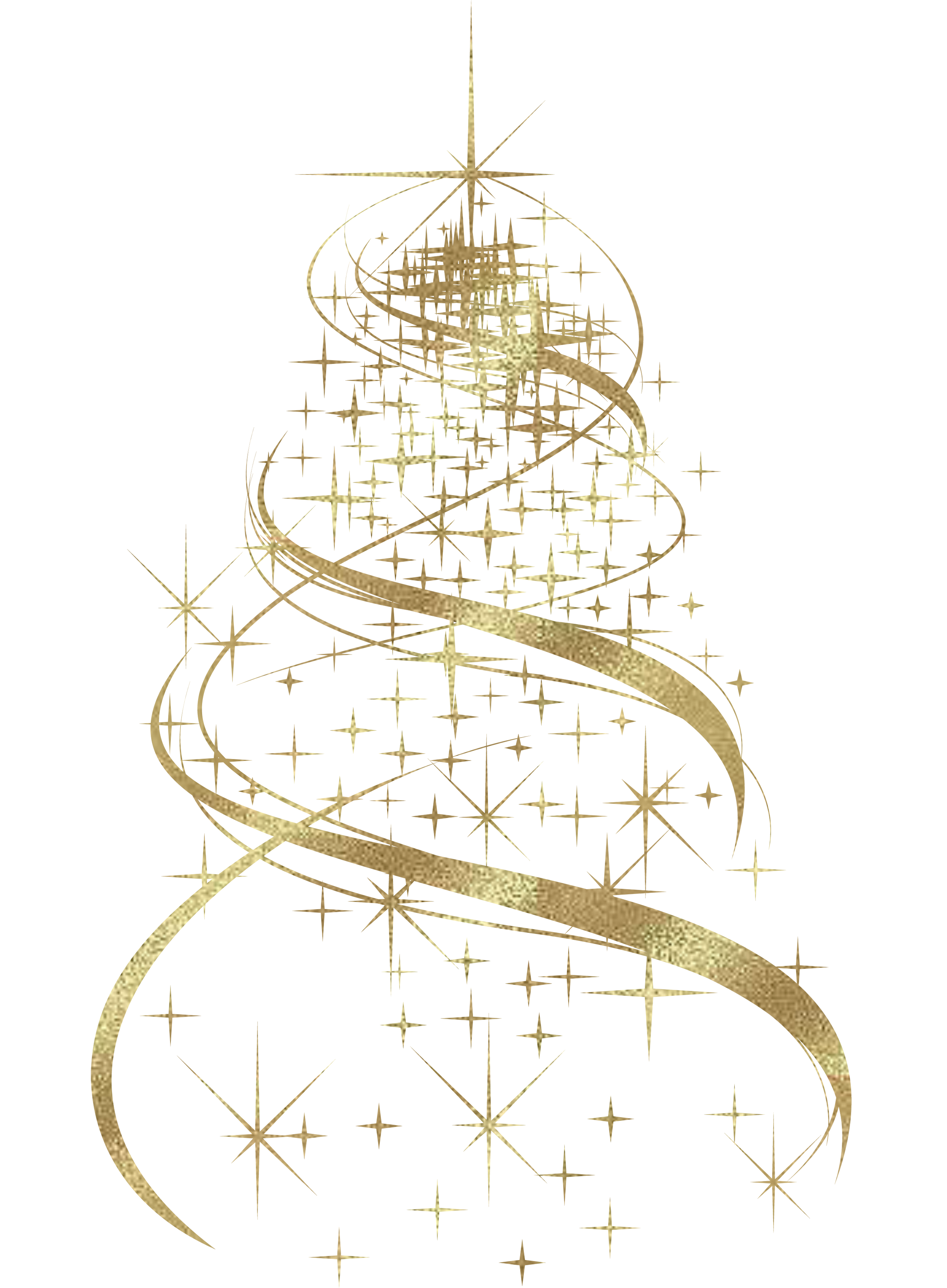 Fancy white christmas ornaments background png. Transparent golden tree decoration
