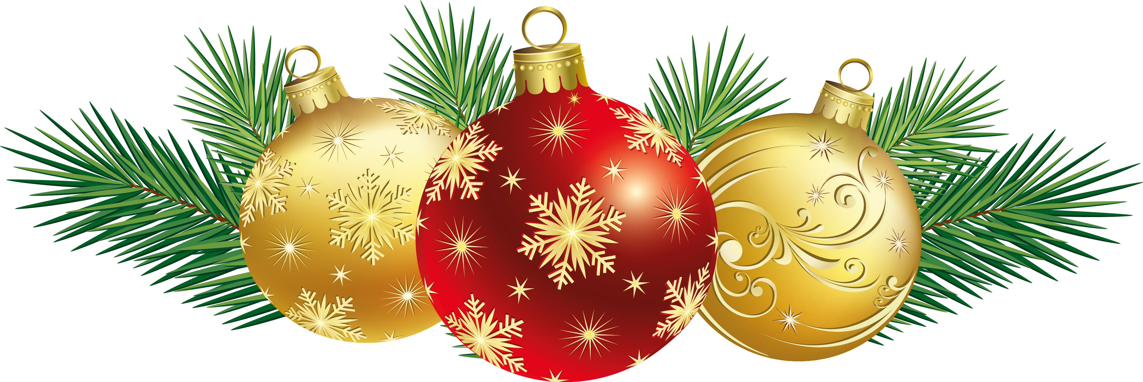 Real palm tree with christmas ornaments png free. Balls decoration clipart gallery
